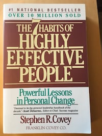 The 7 Habits of Highly Effective People by Stephen Covey, soft cover - $10 Mississauga, L5L 5P5