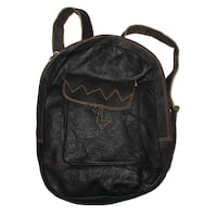 Leather Backpack Long Beach