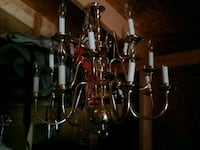 brass uplight chandelier Glen Burnie, 21060