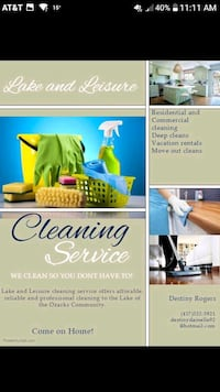 House cleaning Camdenton, 65020