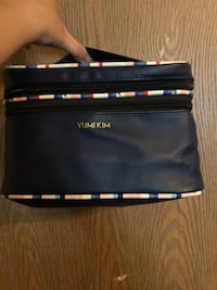 Leather makeup bag like new Paicines, 95043