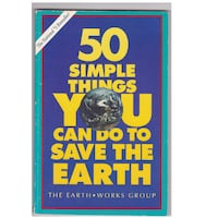 """""""50 SIMPLE THINGS YOU CAN DO TO SAVE THE EARTH"""" BOOK Hanover"""