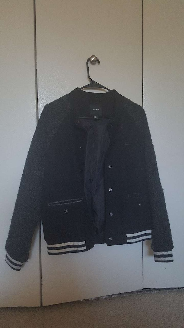 Forever21 black jacket size:L