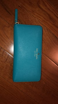 Kate Spade teal blue wallet London, N6K 1W5
