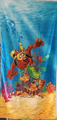 Scooby Doo Beach Towel Measures 30 by 60 inches - Brand New Henderson, 89002