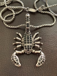 Scorpion Necklace Chain - authentic 925 Sterling Silver Mississauga, L5J 2B9