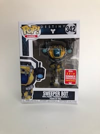 2018 SDCC destiny sweeper bot funko pop Oakville