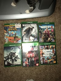 four Xbox One game cases Oakland, 94607