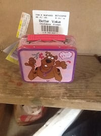 pink scooby-doo printed lung box Newton, 28658