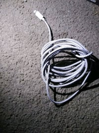 10 ft long lightning cable