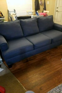 blue fabric 3-seat sofa Bradenton, 34210