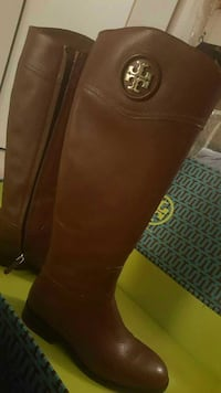 Tory burch boots Used once!