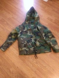 Army camo cold weather field jacket Beebe, 72012
