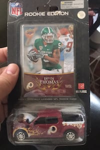 Rookie card with Ford truck Annandale, 22003