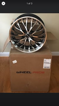 Brand new still in box 20in rims still available  Bowie, 20715