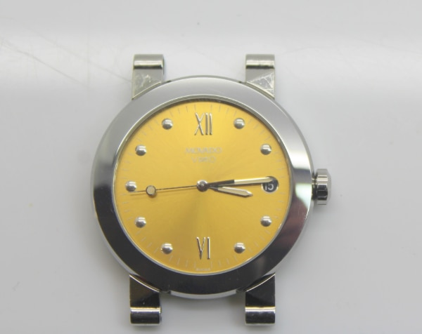feb70e21989d Used MOVADO Vizio 83 C2 878 Stainless Steel Swiss 35mm Watch-HEAD ...