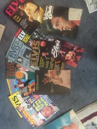Elvis presley books and magazines Baltimore, 21236