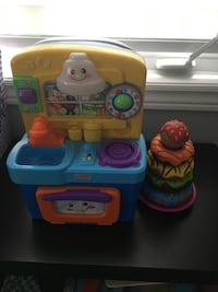 Adorable Baby kitchen & stackable donuts