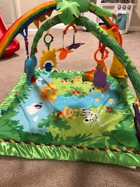 Fisher Price Rainforest Deluxe Gym