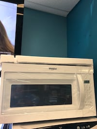 """Brand New 30"""" Whirlpool Over the Range Microwave (Scratch and Dent) Elkridge, 21075"""