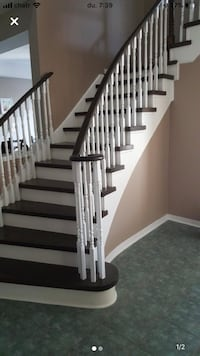 Stairs and railing renovations free estimate Pickering, L1W 3E4