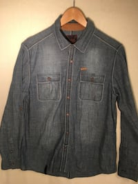 Male teen/child denim shirt Edmonton