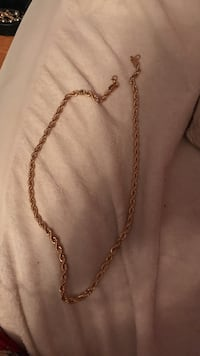 "Gold plated 18k gold chain 26"" Coquitlam, V3E 3B2"