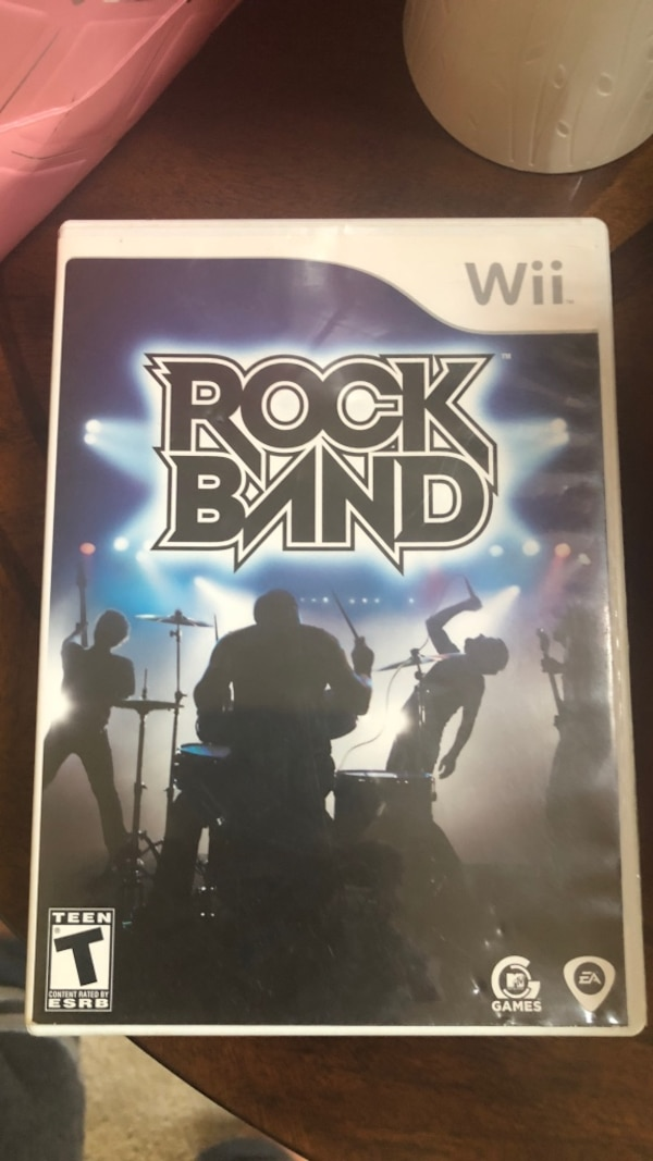 Used Rock Band 2 Xbox 360 game case for sale in Indianapolis