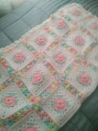 white and pink floral textile Youngstown, 44502