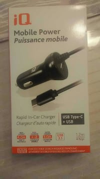 Car charger +USB never used for Android Montréal, H9K 1J7