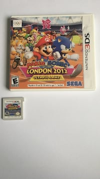 Mario And Sonic 3Ds Game Bristow, 20136