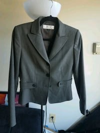 Grey notch lapel suit jacket Falls Church, 22044