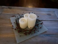 3 piece LED candle centerpiece  Oakville, L6H 1X6