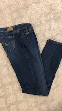 blue denim straight-cut jeans Aldie, 20105
