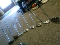 Most of a set of assorted golf clubs Norcross, 30093