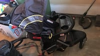 baby's black and gray travel system Chestermere, T1X 0P9