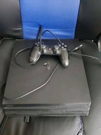 Ps4 pro good condition barely used.