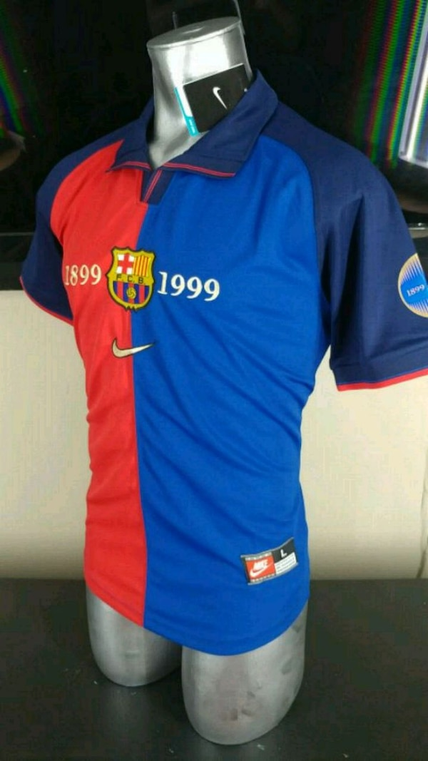 d115254bf Used Barcelona centenario jersey large size for sale in Addison - letgo