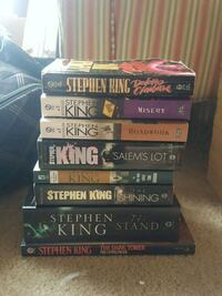 Assorted Stephen King Books Charles Town, 25414