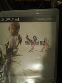 Sony PS3 Final Fantasy 15 game case