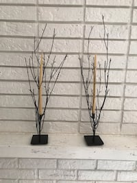 2 candle holders Sterling Heights, 48310