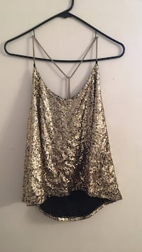 Sparkly Gold Top