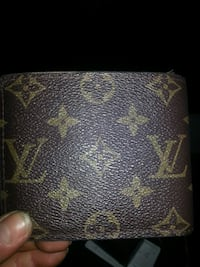 black Louis Vuitton monogram leather wallet Coquitlam, V3J 4S4