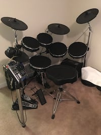 Black and gray electric drum set Fairfax, 22030