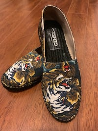 KENZO - Multicolor Flying Tiger Espadrilles Size 38