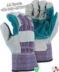 Working palm gauntlet Gloves, pink welder Gloevs ,  Indian gloves, Tillman Gloves Sialkot