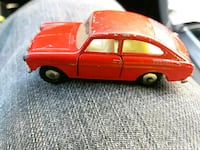 red coupe die-cast model Alexandria, 22312