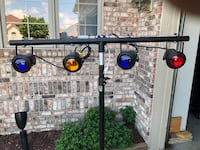 4 pinspots mounted on bar stand not included Sterling Heights, 48313