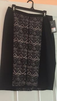 black and gray floral long-sleeved dress Brampton, L6R