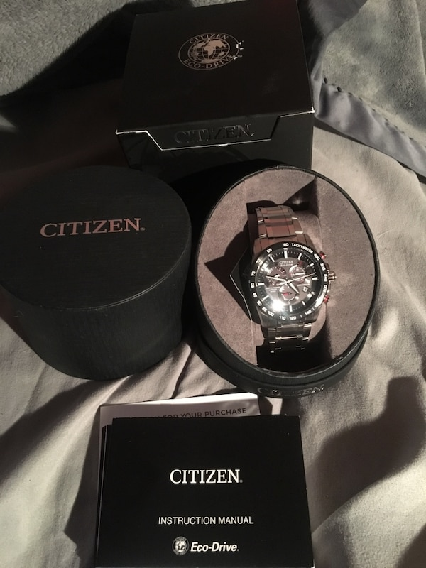 Used Citizen Eco Drive Watch Model No At4 Ctz A8151 For Sale In